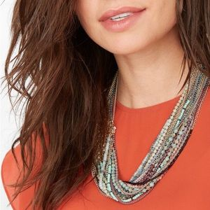 Stella and Dot Mae Statement necklace new in box